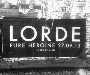 lorde, pure heroine, and music image