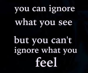 ignore, quote, and feel image