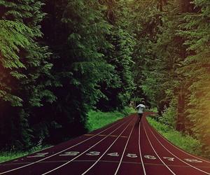 run, running, and track image