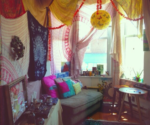 boho, room, and gypsy image