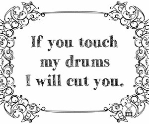 deth, drumming, and love image