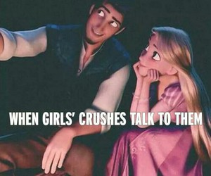 tangled and cute image