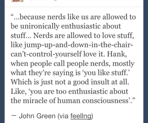 john green, life, and nerd image