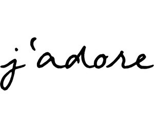 j'adore and quote image