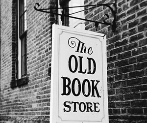 book, store, and old image