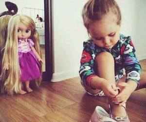 baby, kids, and doll image