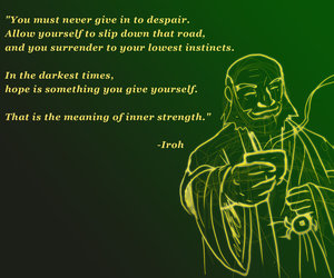 quote, avatar, and hope image