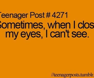 funny, words, and teenager post image