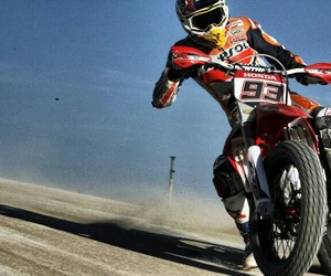 gas, marc, and motocross image