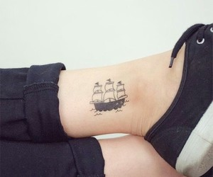 tattoo and boat image