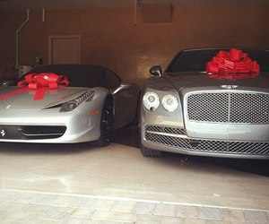 car, luxury, and gift image