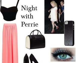 outfit, skirt, and perrie edwards image