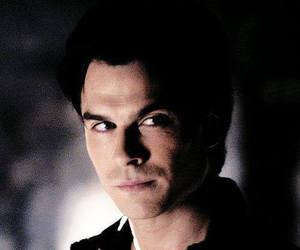face, ian somerhalder, and damon salvatore image