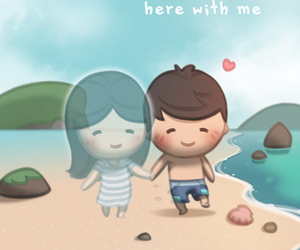 missing, together, and love image