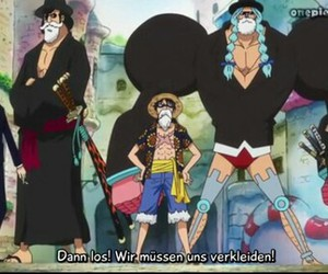 one piece, op, and luffy image