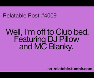 bed, club, and dj image