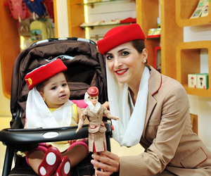 baby, doll, and emirates image