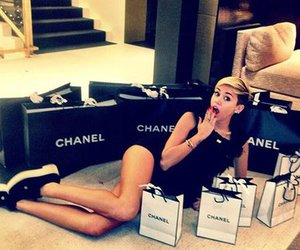 chanel and mileycyrus image