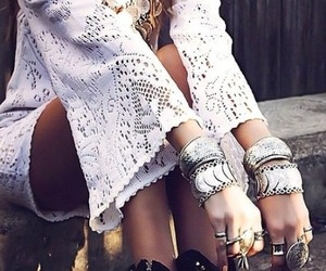 fashion, boho, and accesories image