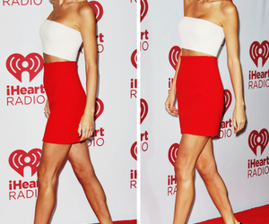 Taylor Swift, red, and iheartradio image