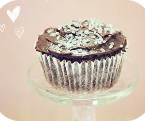 chocolate, cupcake, and cute food image