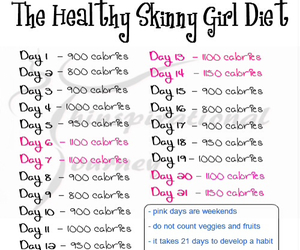 diet, skinny, and healthy image