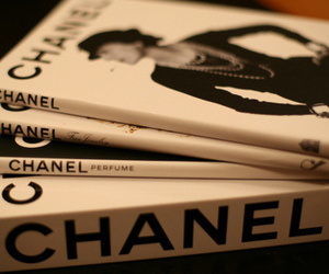 chanel, book, and magazine image