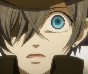 black butler, ciel, and book of circus image