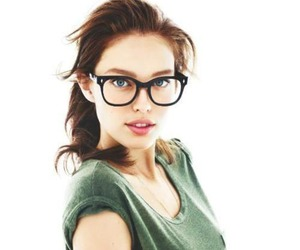 Emily Didonato, model, and glasses image
