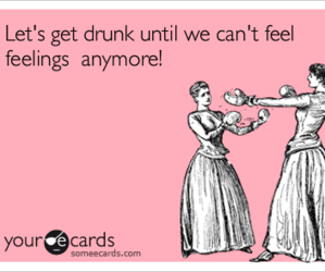 alcohol, drunk, and feelings image