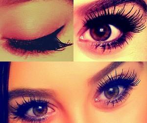 make-up, mascara, and maquillage image