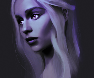 art, game of thrones, and daenerys image
