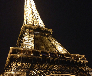 eiffel tower, love, and paris image