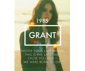 1985, die, and lanadelrey image