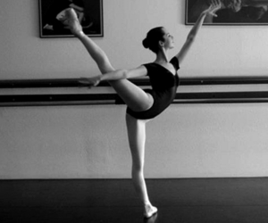 girl, ballet, and beautiful image