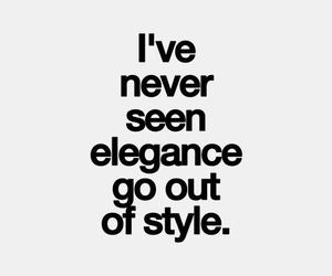 elegance, style, and quotes image