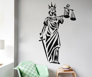 home decor, sticker, and wall decal image