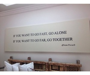quote, alone, and together image