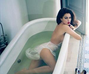monica bellucci, sexy, and bath image