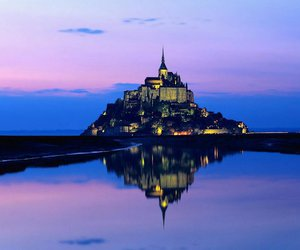 beautiful, france, and Mont Saint Michel image