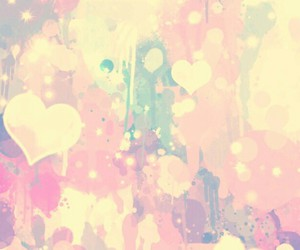 wallpaper, hearts, and background image