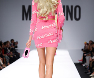 barbie, Moschino, and blonde image
