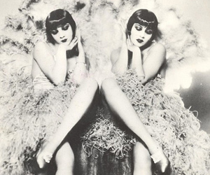 vintage, 1920s, and black and white image
