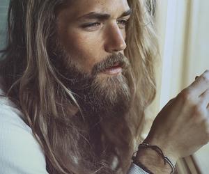 beard, man, and model image