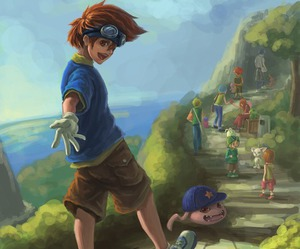 anime, digimon, and digimon adventure image