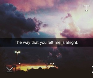 quote, snapchat, and sky image