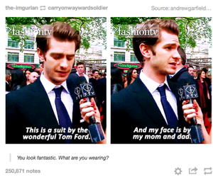 funny, lol, and andrew garfield image