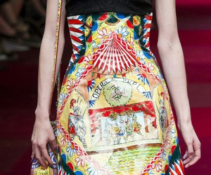 dolce and gabbana, fashion, and model image