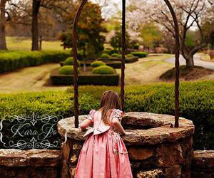 little girl, make a wish, and simple things image
