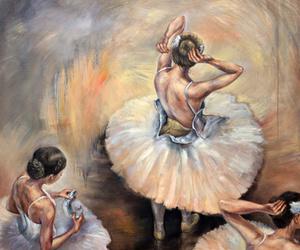 ballerinas, ballet, and corset image